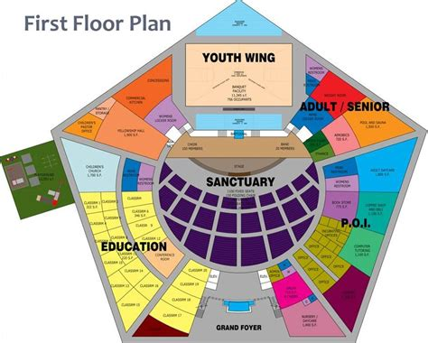 pentagon floor plan home vision to victory caign