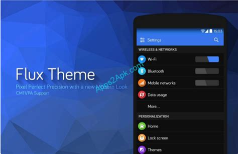 themes for android version 2 3 6 flux cm11 theme v3 2 6 apk 4appsapk