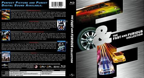 fast and furious dvd set fast and furious collection movie blu ray custom covers