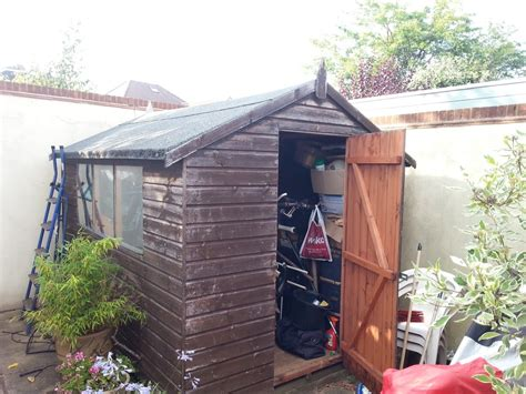 Re Roofing A Shed With Roofing Felt by Re Cover Garden Shed Roof With Felt Area 10ft X 8ft