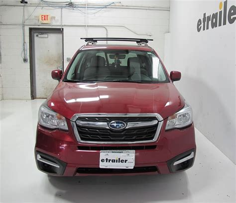 roof rack for subaru forester roof rack for subaru forester 2017 etrailer