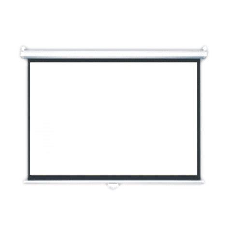 jual screen projektor wall layar proyektor 70 x70 inch
