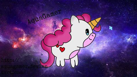 imagenes de fantasia unicornios unicornio kawaii unicorn kawaii by aquagamer on deviantart