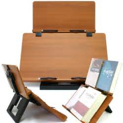 book stand portable wooden reading desk holder f ebay