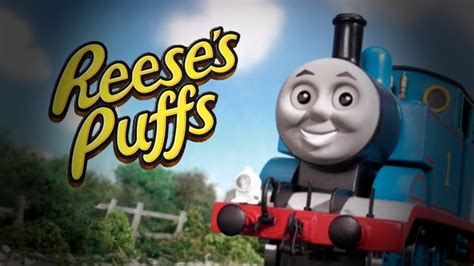 thomas  tank engine reeses puffs rap version youtube