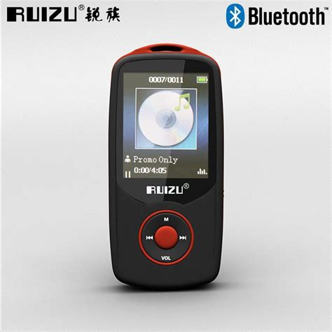 Kualitas Terbaik Sarung Tangan Touch Screen Unisex Kancing ruizu x06 bluetooth hifi dap mp3 player 4gb