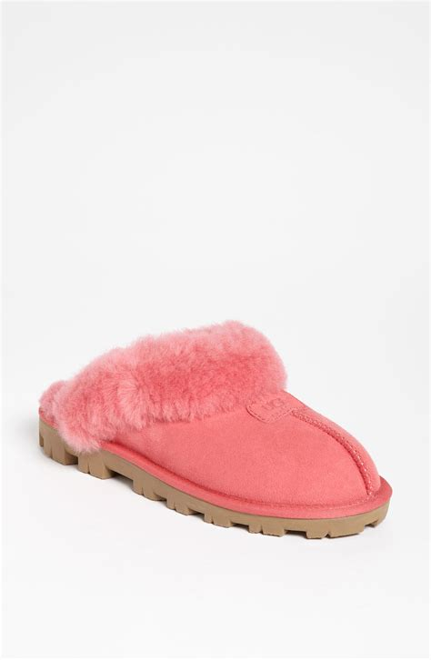 pink house shoes ugg coquette pink slippers
