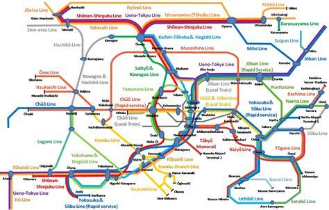 line map how to use japanese railways tokaido line tokyo atami 東海道線 東京 熱海