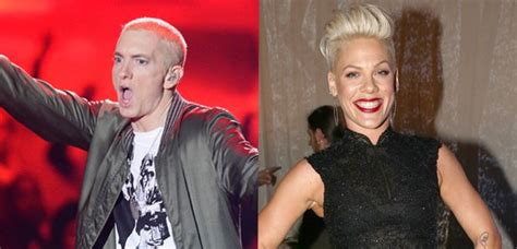 eminem and pink eminem and pink have got an unbelievable quot collaboration