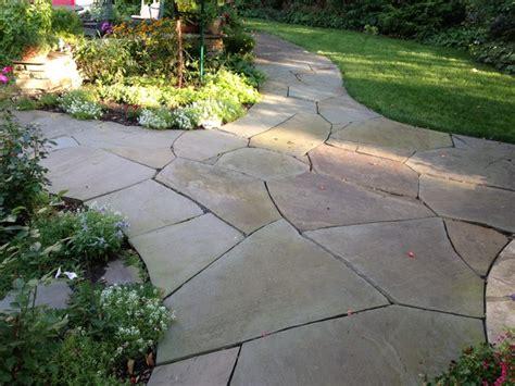 irregular bluestone flagstone in st paul minnesota traditional patio minneapolis by