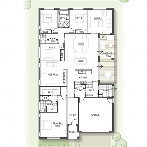outdoor living floor plans the ideal home for a large family the olearia features