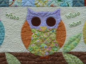 you to see owl baby quilt by kgapud