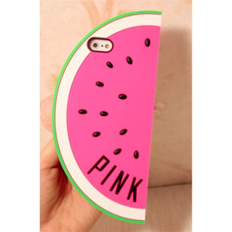 Iphone 5 5s Pink watermelon tpu for iphone 5 5s se pink