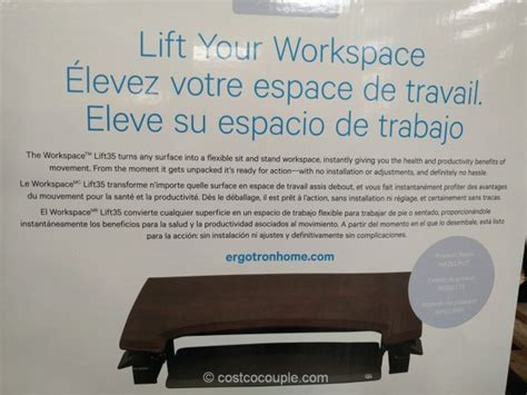 ergotron adjustable height desk ergotron adjustable height workspace
