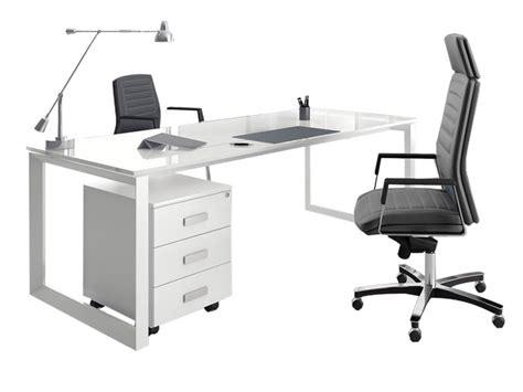 bureau en verre blanc bureau en verre blanc maison design modanes com