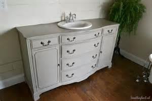dresser turned vanity makeover beneath my