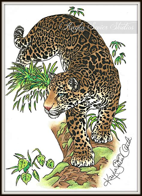 jaguar tattoo jaguar design by kaylasevier on deviantart