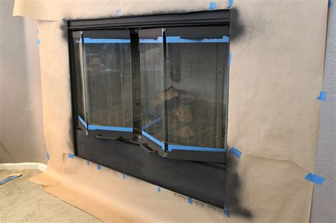 painting fireplace screen doors for 5 changing