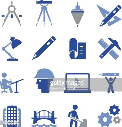 icon design engineers engineering icons pro series vector art getty images