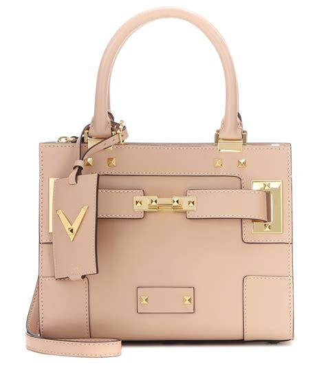 My Shoulder Bag by Valentino My Rockstud Small Embellished Leather Shoulder