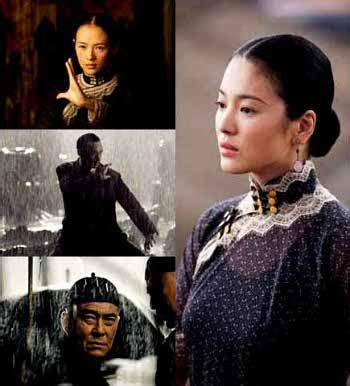 film action pertarungan song hye gyo dan zhang zi yi di trailer the grandmasters