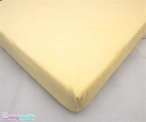 Terry Towelling Fitted Sheet Fits Baby Crib Cot Cotbed Crib Mattress Fitted Sheet