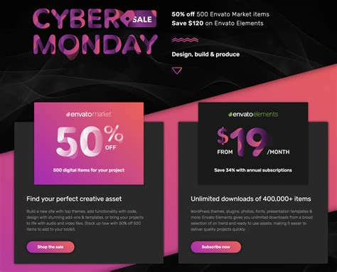 themeforest deals best black friday cybermonday deals on wordpress themes