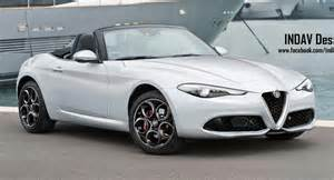 Alfa Romeo Spider Alfa Romeo Spider Inspired By Giulia Has The Build It Now