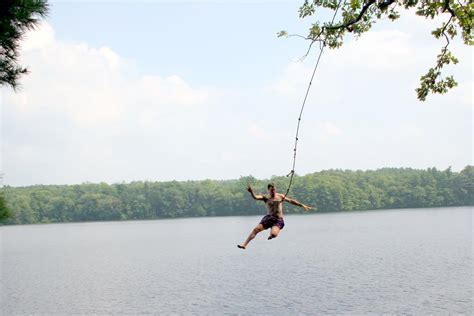 water rope swing life is for the living whitehall reservoir swimming