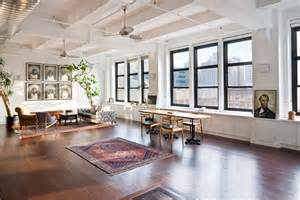 manhattan loft apartments home staging living room