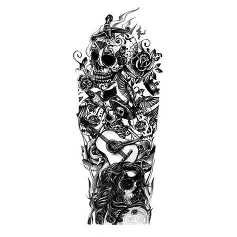 day of the dead tattoo sleeve designs day of the dead inspired sleeve design tato