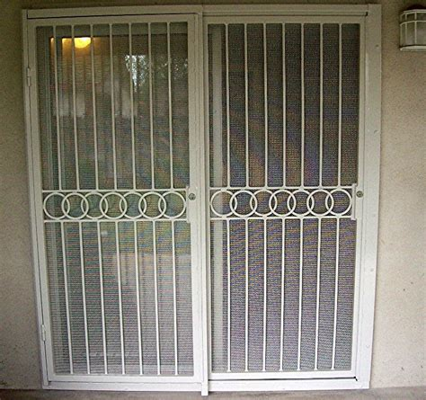 Patio Doors Security Security Screen Doors Security Screen Door For Patio Doors