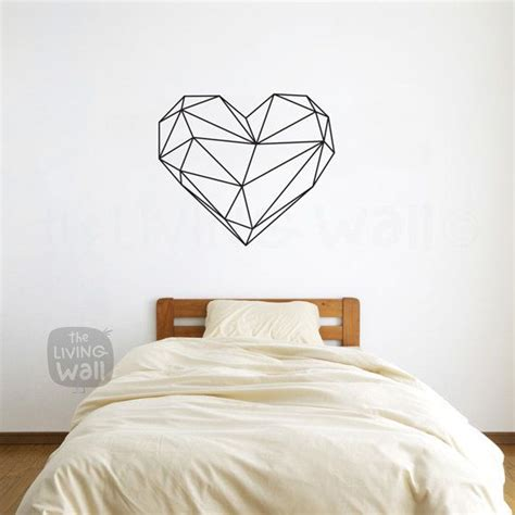 Art Deco Wall Stickers best 25 heart wall art ideas on pinterest heart canvas