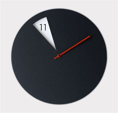 minimalist clock you can t get the time wrong with this minimalist clock