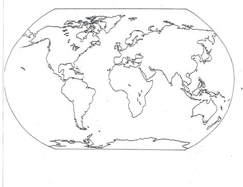 coloring pages geography printable world map coloring page 05 for the classroom pinterest