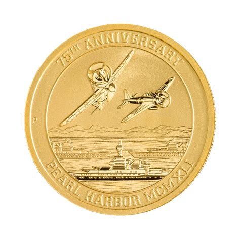 Pearl Silver Gold by 1 10 Oz Pearl Harbor Gold Coin Buy Exclusive Gold Bullion