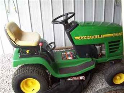 Used Farm Tractors For Sale John Deere Stx38 Tractor