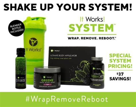 Make My Detox It Works Wrap by Toxic Hangover New Cleanse From It Works 45 Minute
