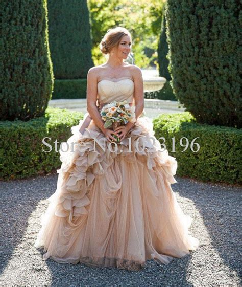 Where To Get Wedding Dresses by Get Cheap Rustic Wedding Dresses Aliexpress