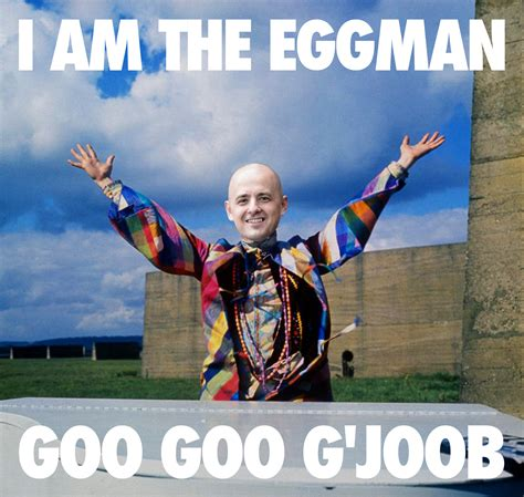 Evan Meme - evan mcmullin aka the eggman i am the walrus the donald
