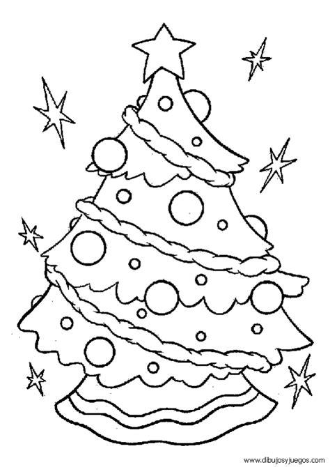 dibujo de arbol navidad 032 dibujos y juegos para