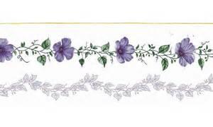 lavender flowers border free wallpaper