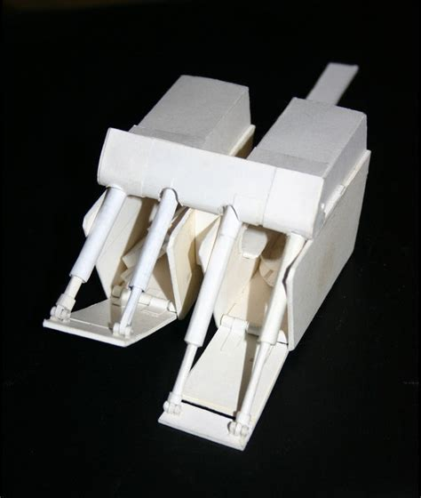 Papercraft At At - at at barge paper model by satchelmarr on deviantart