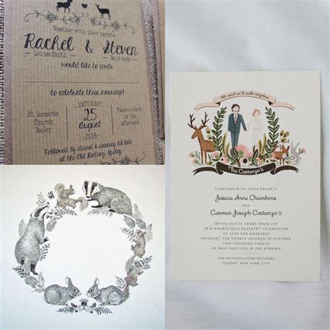 wedding invitations cheshire woodland animal wedding theme capesthorne and weddings