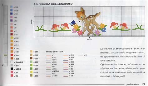 schemi punto croce lenzuolino gratis schema punto croce lenzuolino punto croce