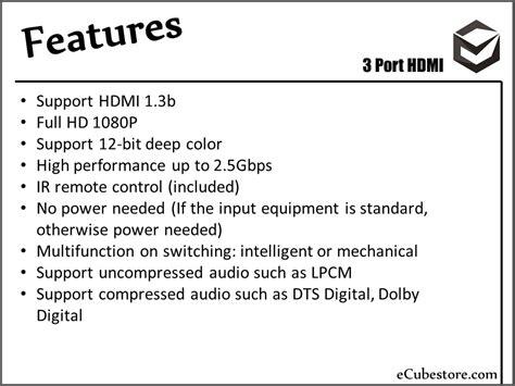 Harga Kabel Vga Yang Bagus hdmi cable 3 ports switcher splitter hub harga kabel