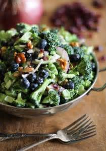Broccoli Salad with Cranberries and Walnuts