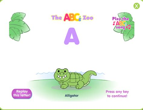 kids  code fisher price  abcs zoo learning game