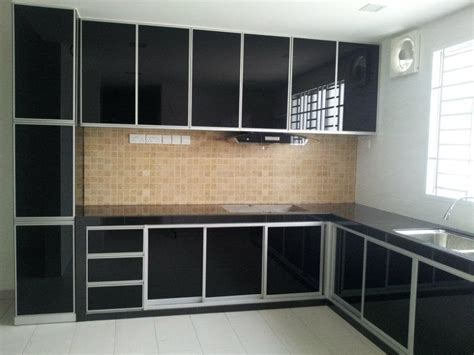 Aluminium Kitchen Cabinet Black Aluminium Kitchen Cabinets Trendyoutlook