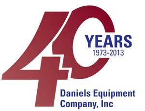 for 40 yr about us daniels equipment